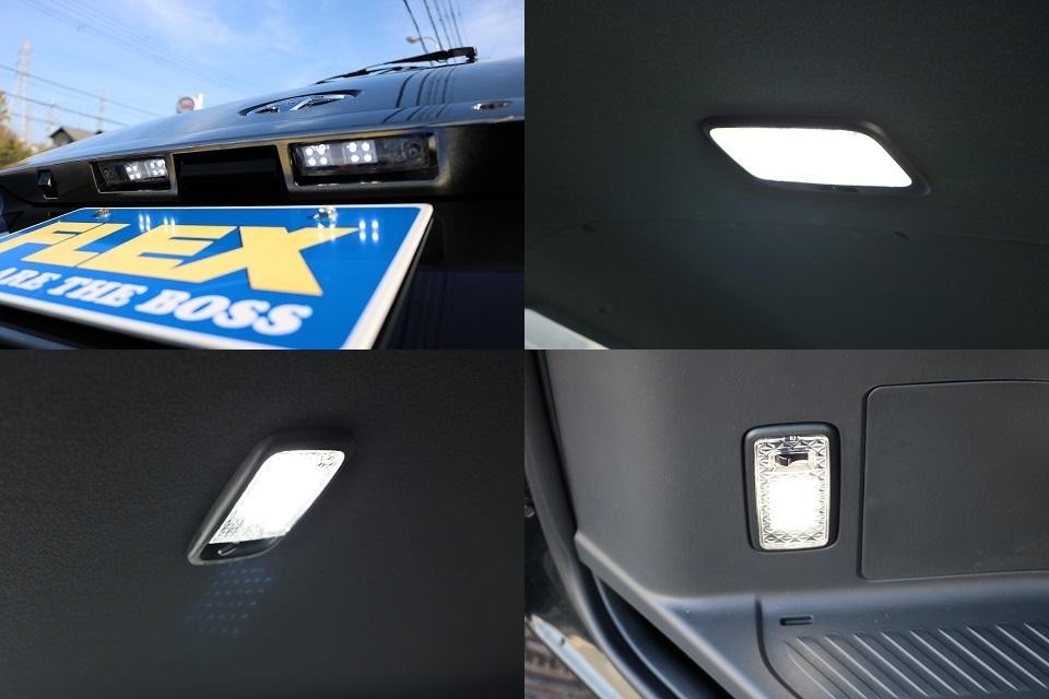 LEDルームランプ&クリスタルレンズセット!現車は大阪店にて展示中ですので即納車も可能!お気軽にご相談ください!   トヨタ ハイエースバン 2.8 スーパーGL ダークプライムⅡ ロングボディ ディーゼルターボ ☆LEDエディション☆