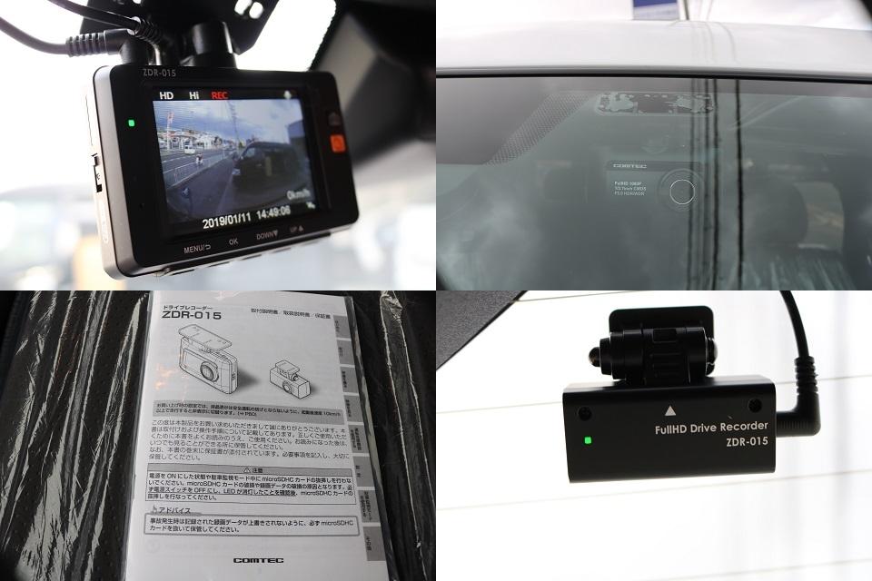 高性能前後2カメラ搭載ドライブレコーダー完備!エンジンOFF中でも録画していますので安心ですね! | トヨタ ハイエースバン 2.8 スーパーGL 50TH アニバーサリーLTD ワイド ミドルルーフ ロングボディ Dターボ 2カメラドライブレコーダー搭載