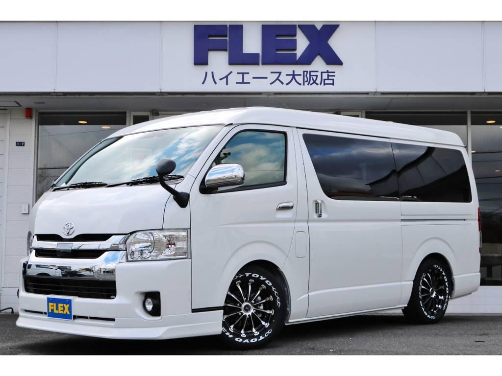 未登録新車!ワゴンGL2WD!室内架装車「ラウンジ5」完成!他ボディーカラーや4WD車での制作も可能です!まずは大阪店にお問い合わせください。