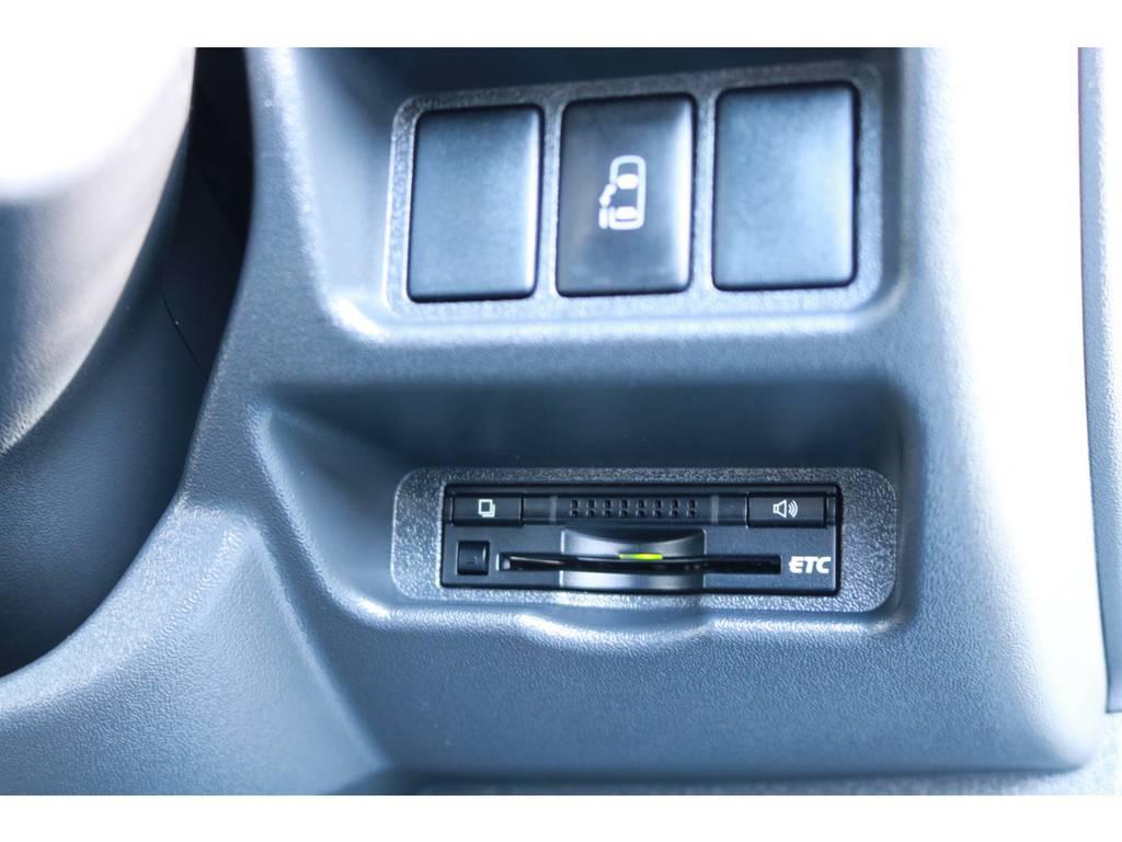 パワースライドドアにETCも完備! | トヨタ ハイエース 2.7 グランドキャビン 4WD ベットキット完備