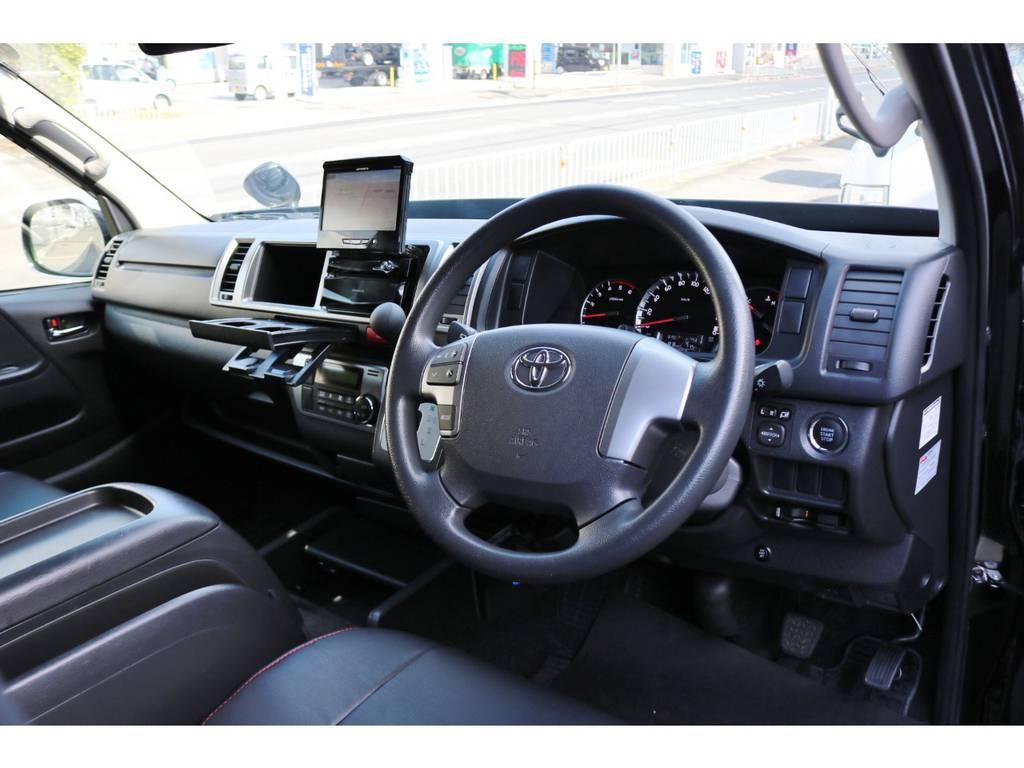 運転席エアバッグ&ABS標準装備です。