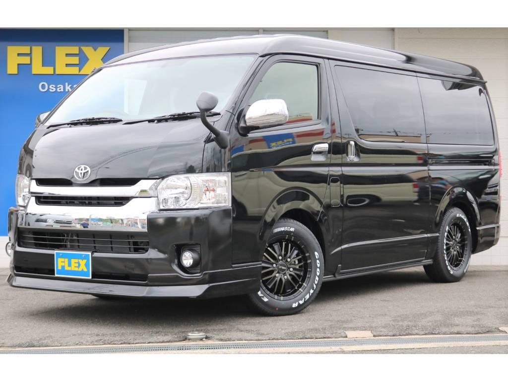 未登録新車ワゴンGL トヨタ車体特別架装車両「ファインテックツアラー」の4WD入庫です!