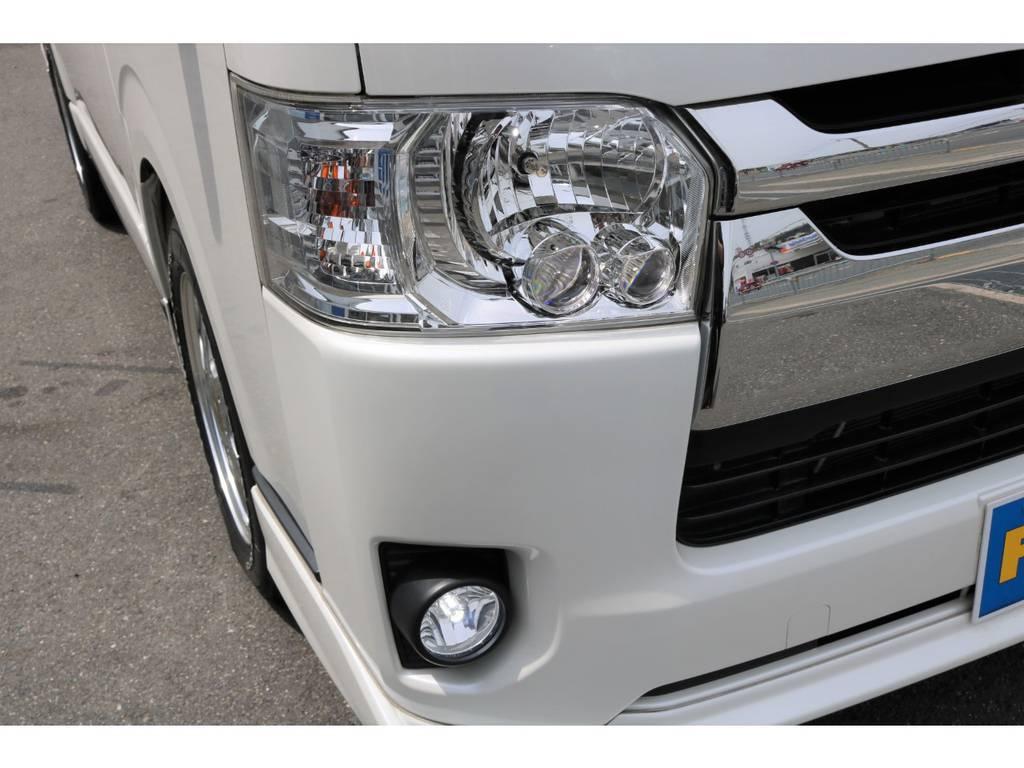 LEDヘッドライト完備!LEDポジションバルブ&LEDフォグバルブもついてます!純正リップスポイラー!