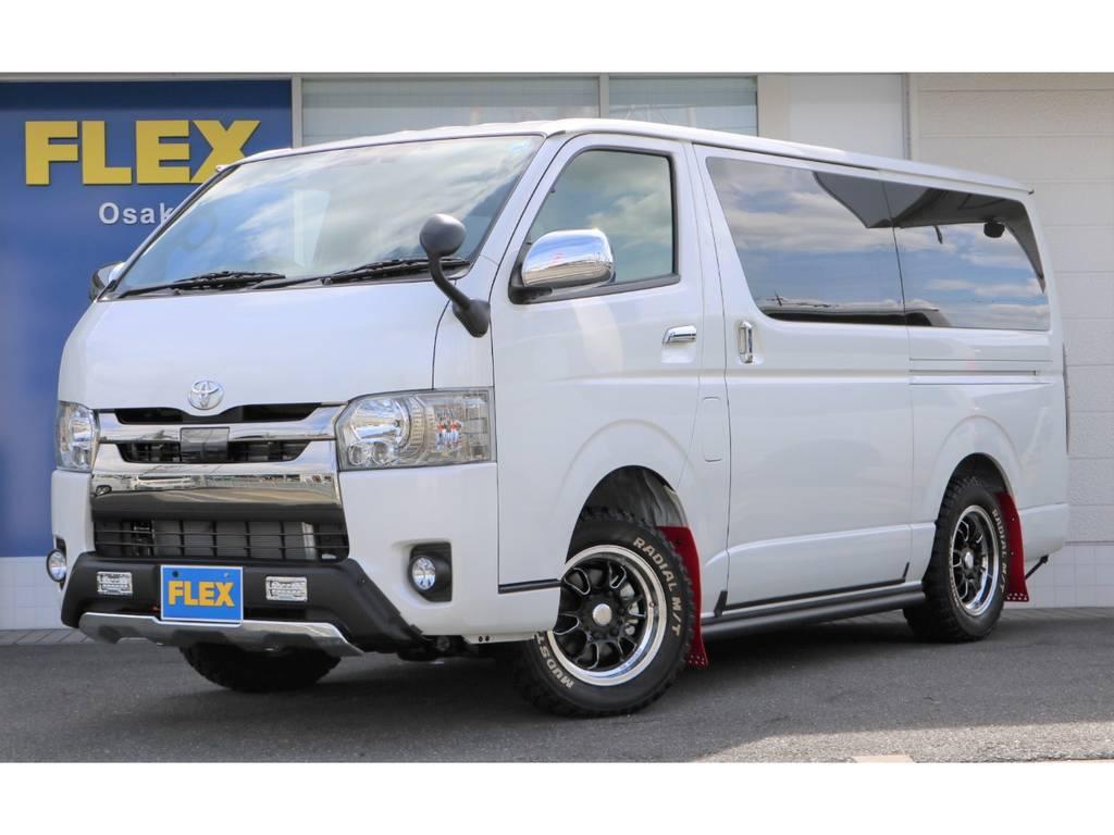 未登録新車!2800ディーゼルターボS-GL4WD!特別仕様車「ダークプライムⅡ」がクロカンスタイルで登場です!現車は大阪店在庫ですので、お求め&お問い合わせは大阪店までお願いします。