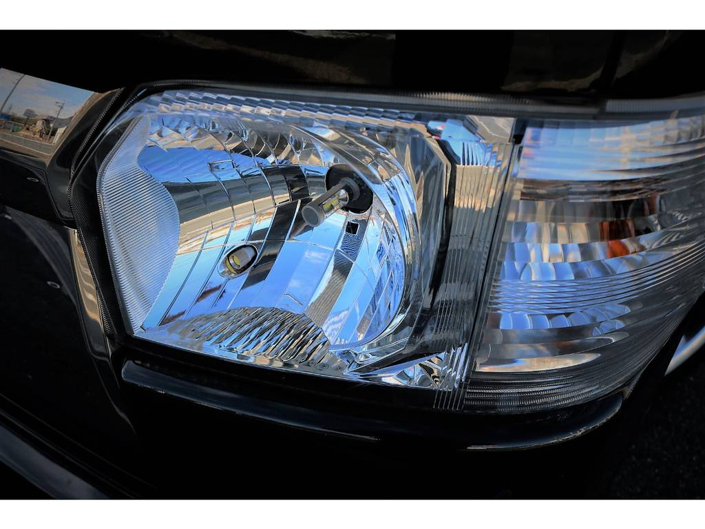 社外LEDヘッドライトバルブ&ポジションランプ