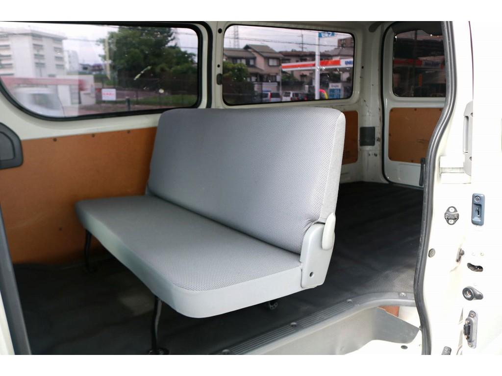 後席は3人掛けシート☆彡