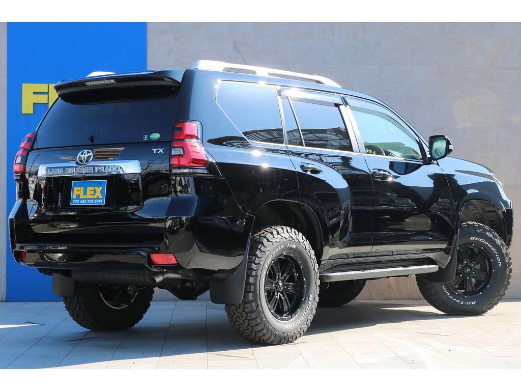 即納可能!ライトカスタムパック! | トヨタ ランドクルーザープラド 2.8 TX ディーゼルターボ 4WD