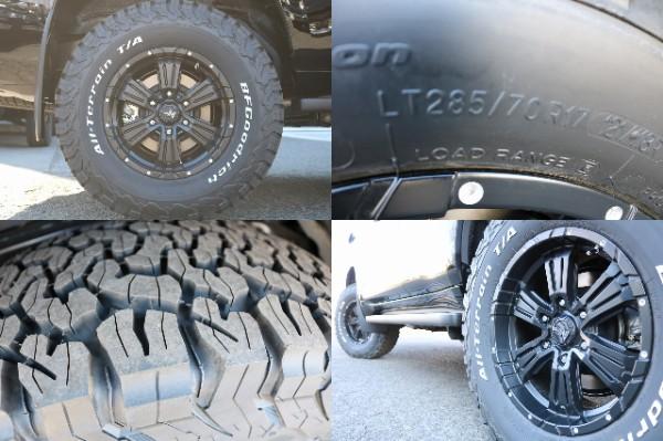 新品17インチAW&BF285ATタイヤ! | トヨタ ランドクルーザープラド 2.8 TX ディーゼルターボ 4WD
