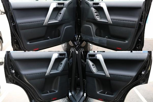 各部内張り! | トヨタ ランドクルーザープラド 2.8 TX ディーゼルターボ 4WD