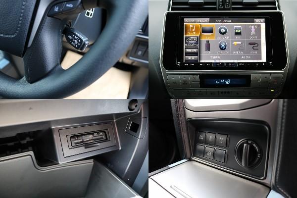 長旅には欠かせないETCにビルトインタイプのETC! | トヨタ ランドクルーザープラド 2.8 TX ディーゼルターボ 4WD
