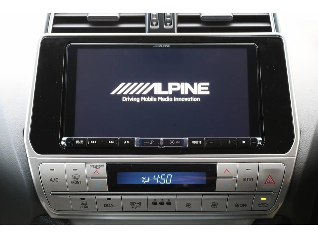 新品9インチSDナビTV!フルセグ視聴可能です! | トヨタ ランドクルーザープラド 2.8 TX ディーゼルターボ 4WD