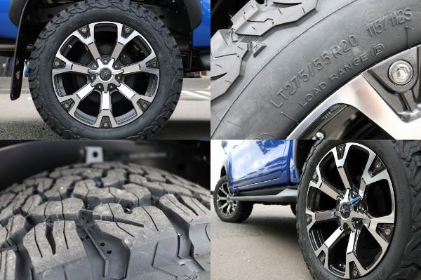 新品ナイトロパワー20インチAW&BF275ATタイヤ! | トヨタ ハイラックス 2.4 Z ディーゼルターボ 4WD Z