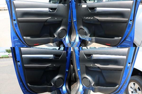 各部内張り! | トヨタ ハイラックス 2.4 Z ディーゼルターボ 4WD Z