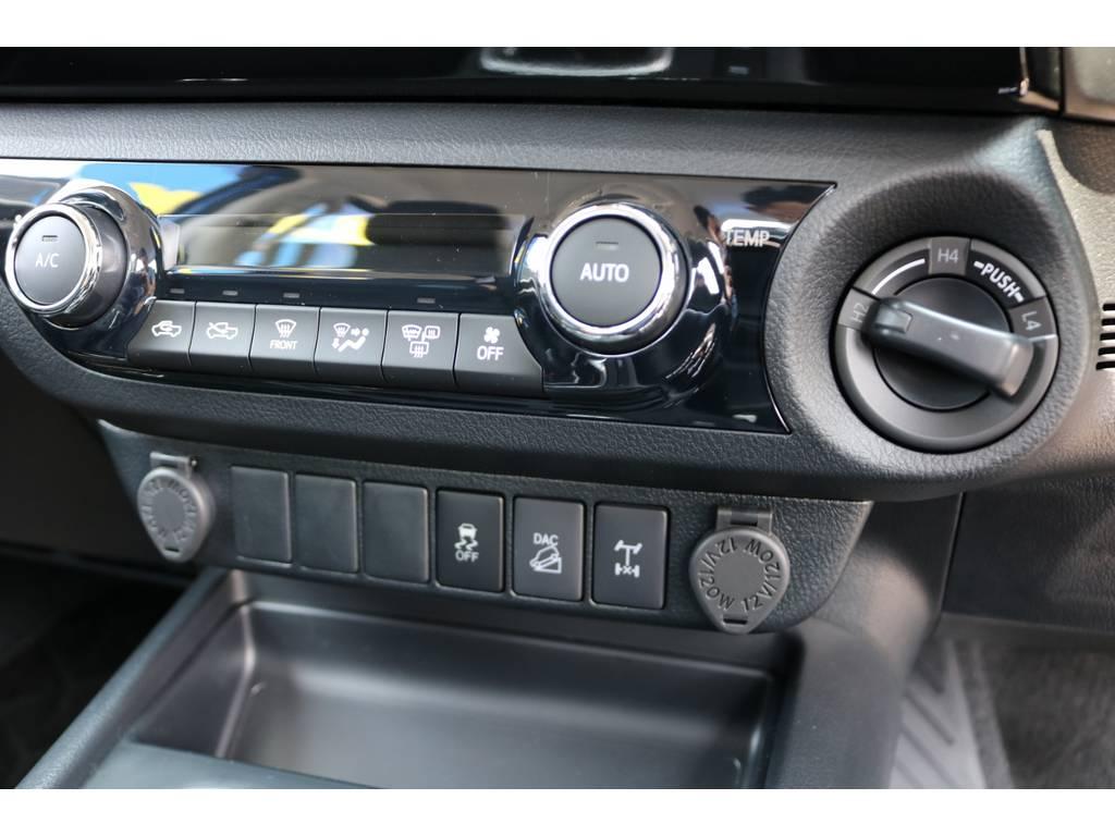2駆~4駆は切り替え式となっております! | トヨタ ハイラックス 2.4 Z ディーゼルターボ 4WD Z