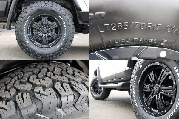 新品17インチAW&BF285ATタイヤ装備! | トヨタ FJクルーザー 4.0 カラーパッケージ 4WD
