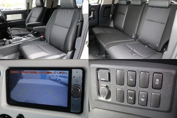 オプション装備のA-TRAC機能付き! | トヨタ FJクルーザー 4.0 カラーパッケージ 4WD