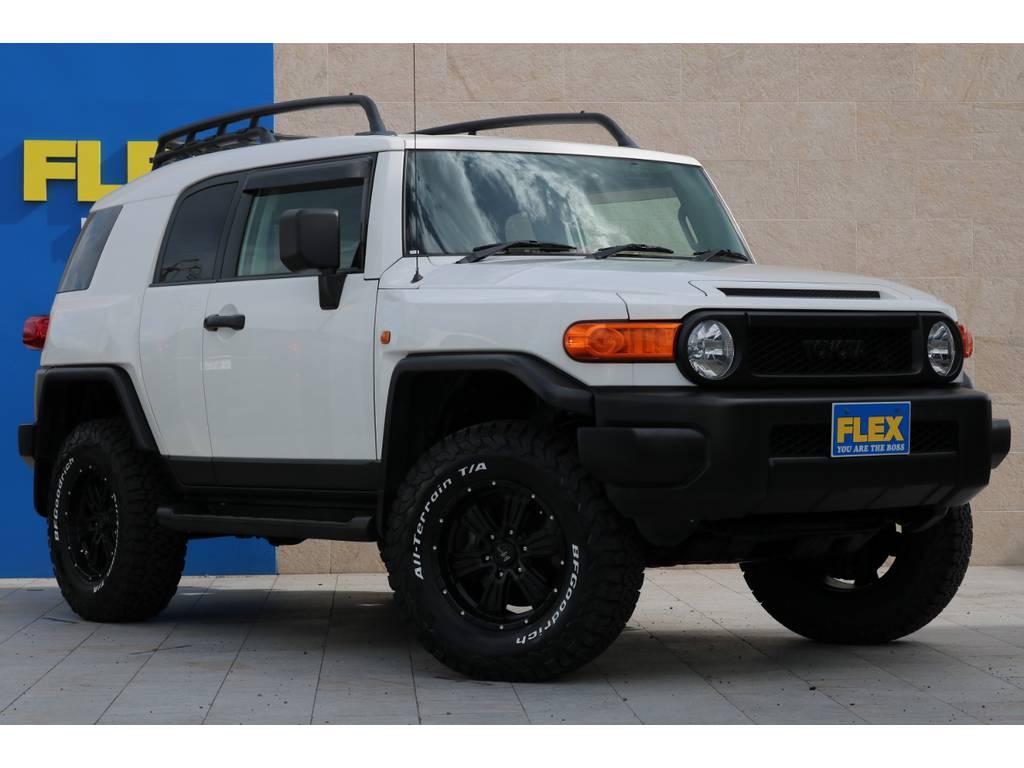 全車法定点検整備後の更新型、保証付き販売となります! | トヨタ FJクルーザー 4.0 カラーパッケージ 4WD