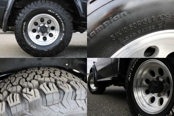 ジムライン15インチAW&BF31ATタイヤ!   トヨタ ランドクルーザー70 4.2 ZX FRPトップ ディーゼル 4WD