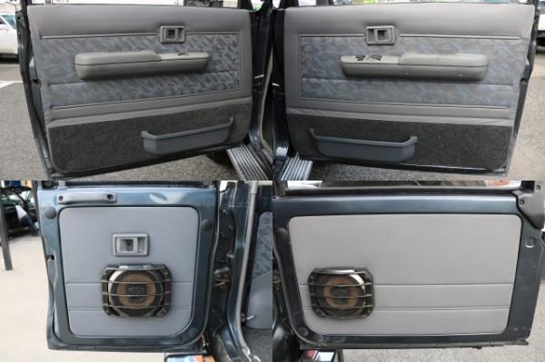 各部内張り!   トヨタ ランドクルーザー70 4.2 ZX FRPトップ ディーゼル 4WD