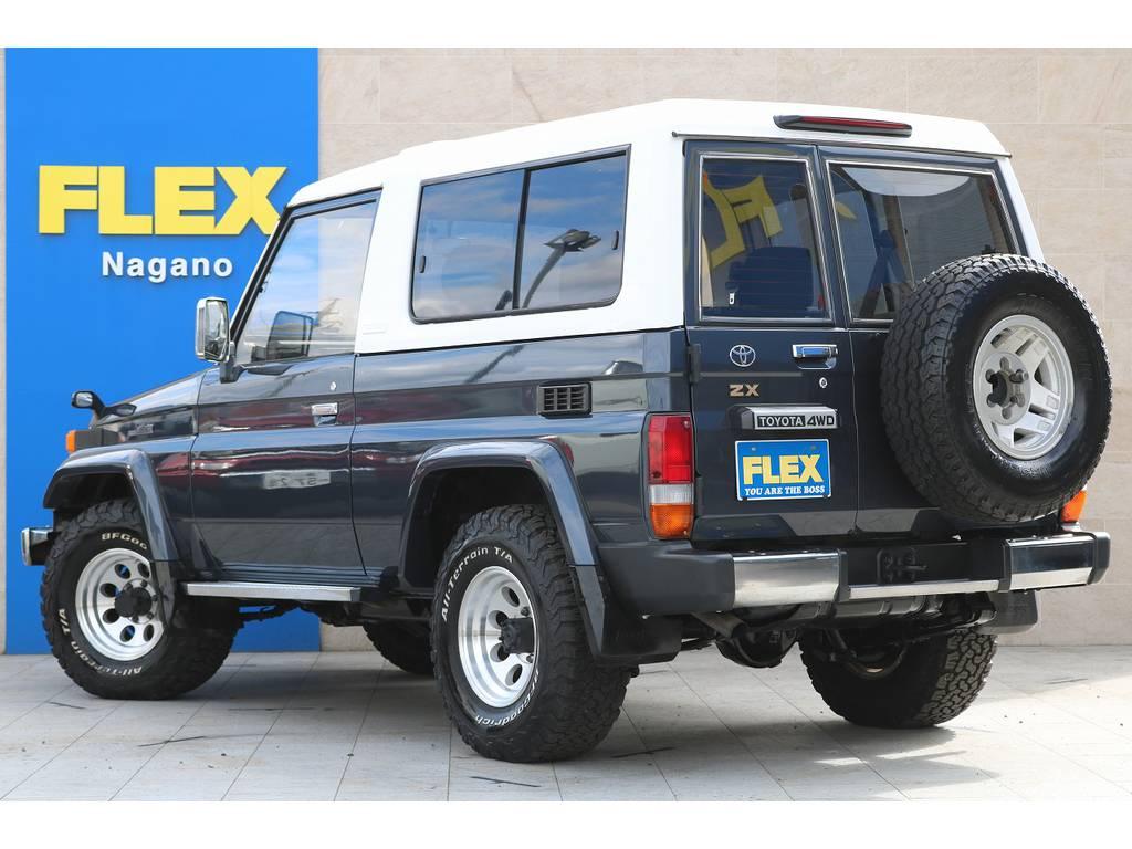 陸送会社との提携により遠方納車も可能ですので、お気軽にお問い合わせ下さい!   トヨタ ランドクルーザー70 4.2 ZX FRPトップ ディーゼル 4WD