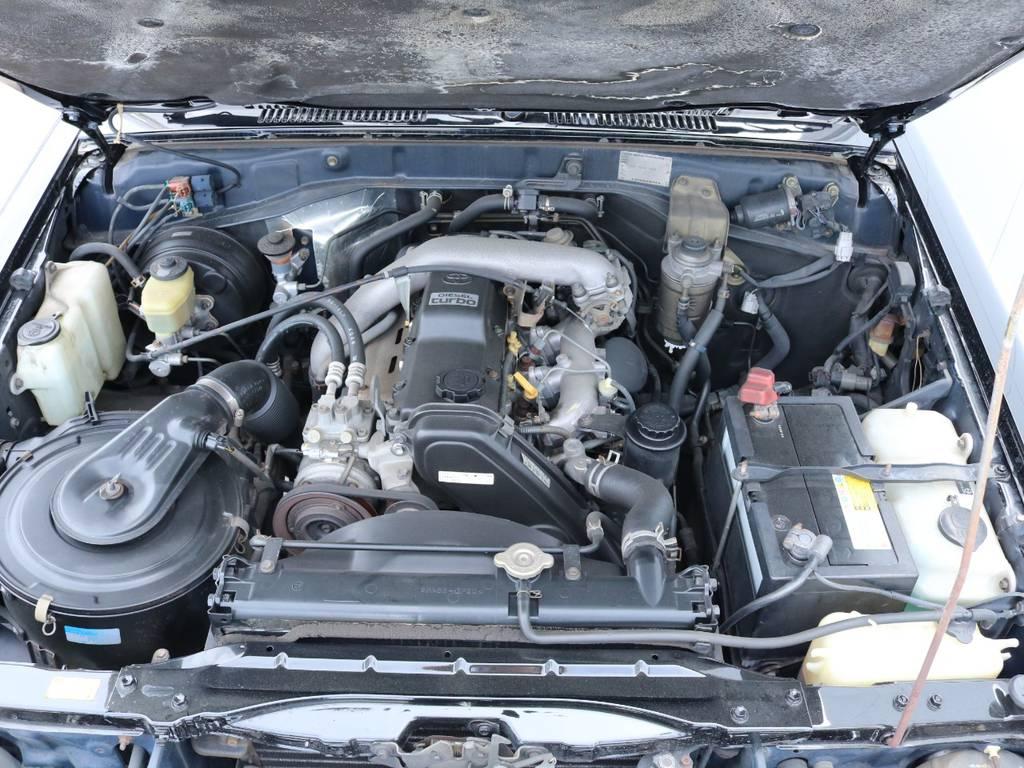 3.0Lディーゼルターボエンジン搭載!快適なドライブを実現!