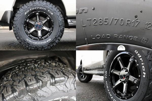 新品MKW17インチAW&BF Goodrich285ATタイヤ! | トヨタ ランドクルーザープラド 2.7 TX 4WD
