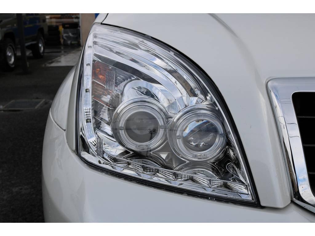 新品イカリングヘッドライト&LEDテールランプ! | トヨタ ランドクルーザープラド 2.7 TX 4WD