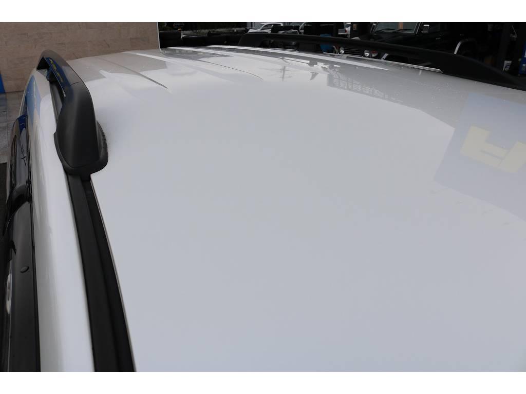 純正ルーフレール! | トヨタ ランドクルーザープラド 2.7 TX 4WD
