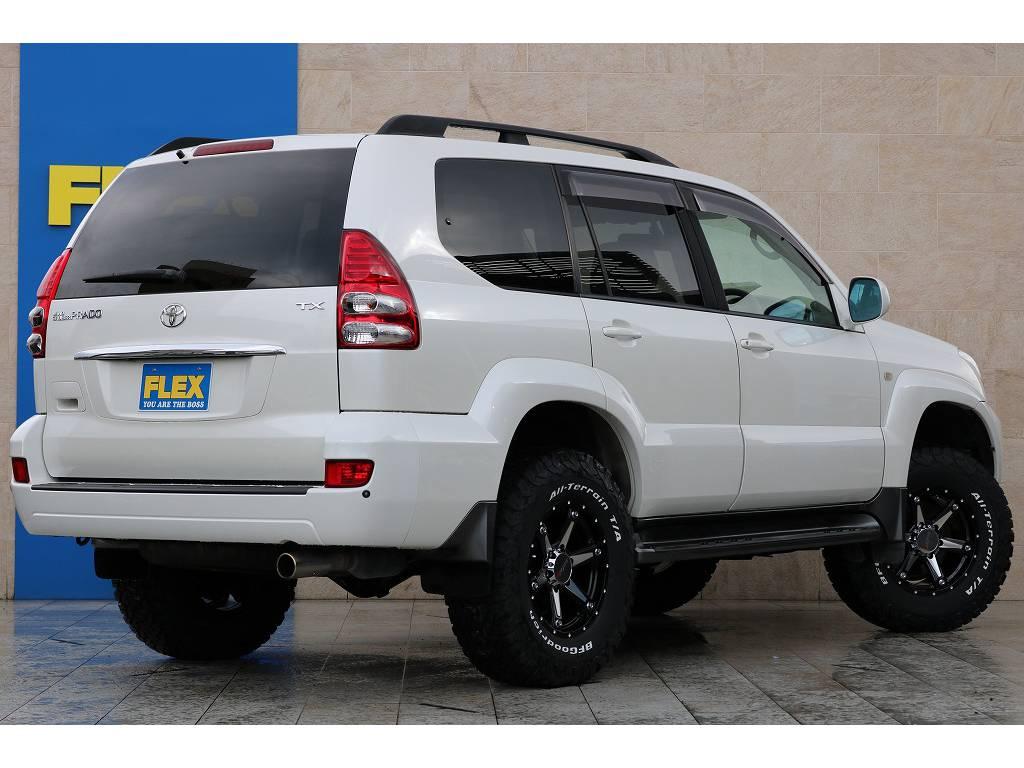 全車法定点検整備後の更新型、保証付き販売となります! | トヨタ ランドクルーザープラド 2.7 TX 4WD