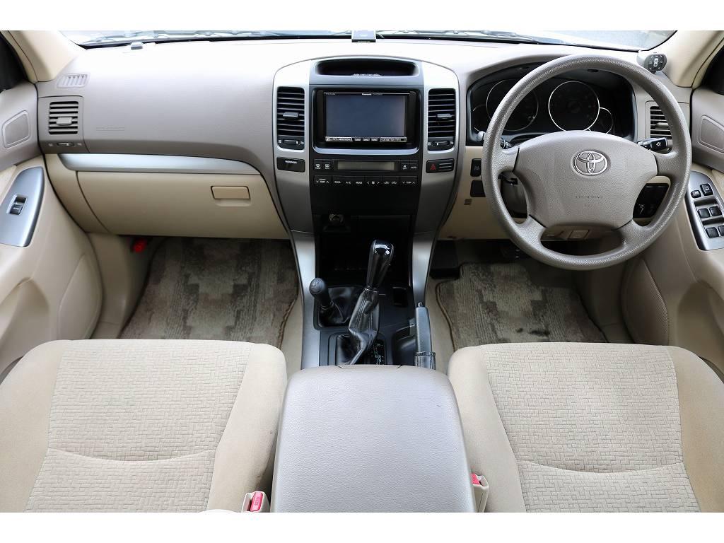 インパネ廻り! | トヨタ ランドクルーザープラド 2.7 TX 4WD
