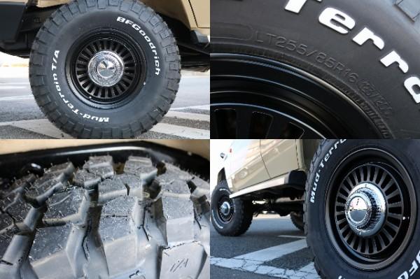 新品DEANカリフォルニア16インチAW&BF255MTタイヤ! | トヨタ ランドクルーザープラド 3.0 SXワイド ディーゼルターボ 4WD