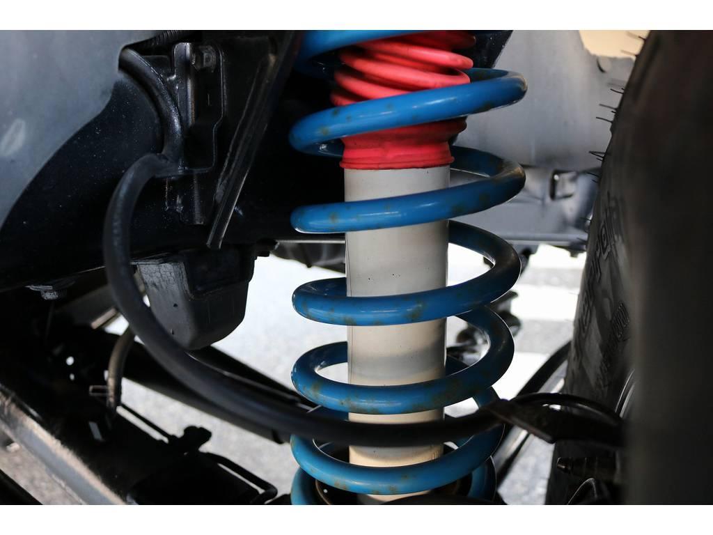 2インチUPコイル&プロコンプショック! | トヨタ ランドクルーザープラド 3.0 SXワイド ディーゼルターボ 4WD