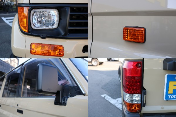 各レンズ類も新品パーツに変更し、リフレッシュしております! | トヨタ ランドクルーザープラド 3.0 SXワイド ディーゼルターボ 4WD