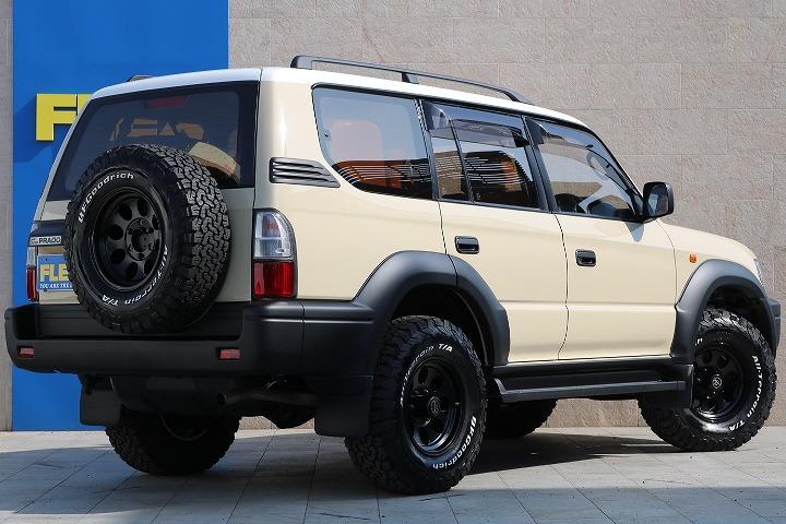 1オーナー車両! | トヨタ ランドクルーザープラド 2.7 TX リミテッド 4WD