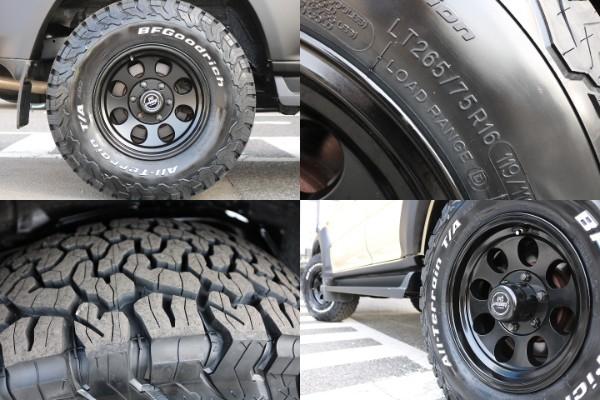 新品ジムライン16インチAW×BF Goodrich265ATタイヤ ! | トヨタ ランドクルーザープラド 2.7 TX リミテッド 4WD