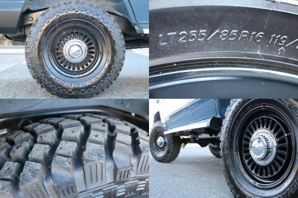 新品DEANカリフォルニア16インチAW&BF255MTタイヤを装備!