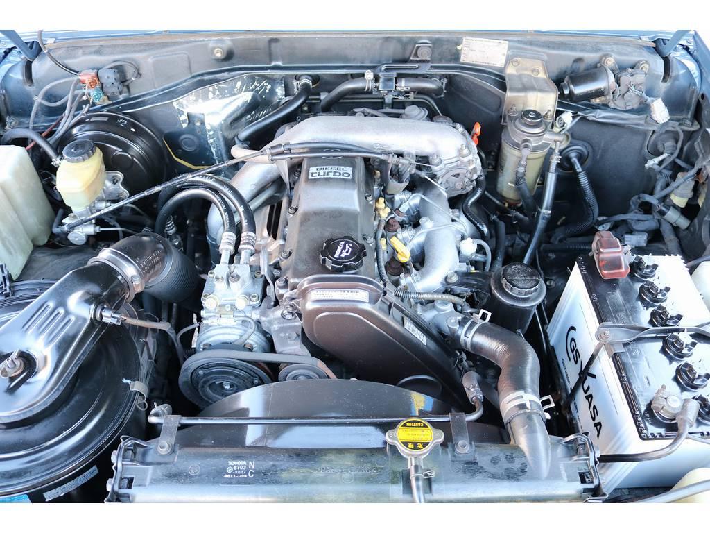 耐久性&信頼性に定評ある1KZエンジン搭載です!