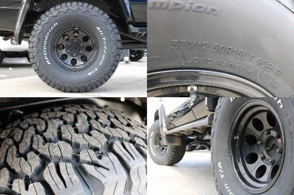 新品BF33ATタイヤ! | トヨタ ランドクルーザープラド 3.0 SXワイド ディーゼルターボ 4WD