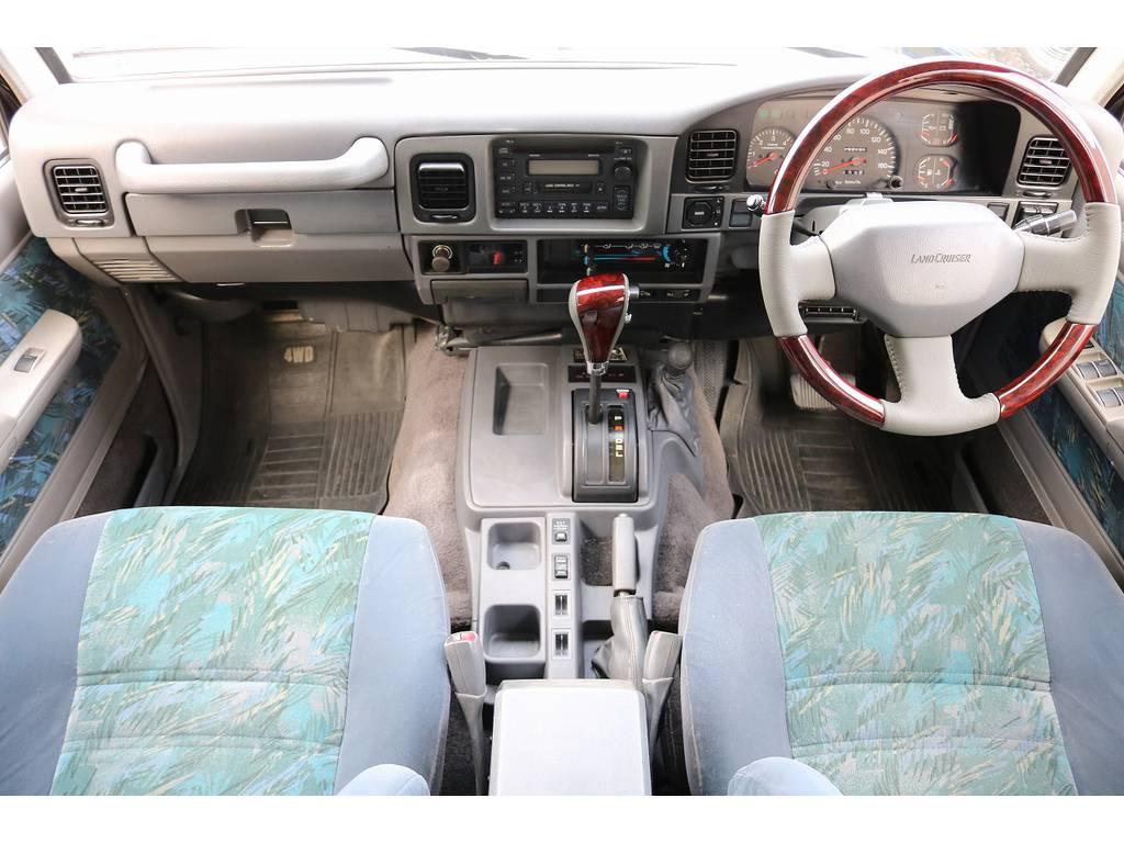 インパネ廻り! | トヨタ ランドクルーザープラド 3.0 SXワイド ディーゼルターボ 4WD