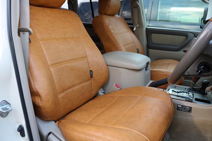 運転席シート!新品オリジナルシートカバー装備!