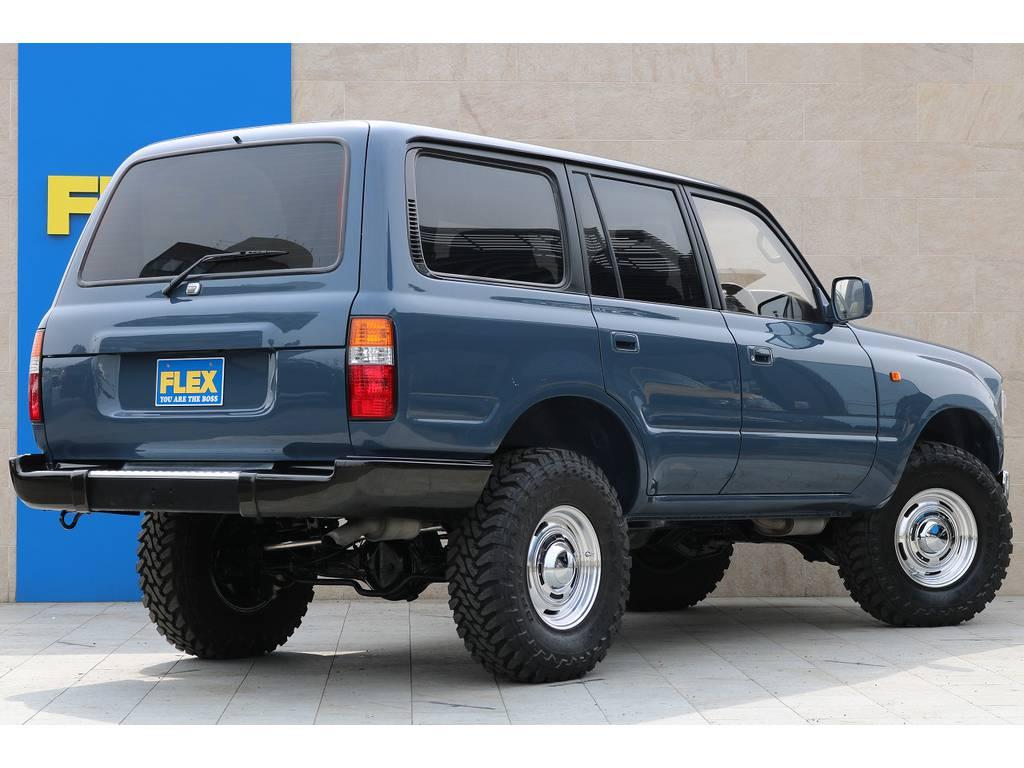 人気のアルルブルー♪ | トヨタ ランドクルーザー80 4.2 VXリミテッド ディーゼルターボ 4WD