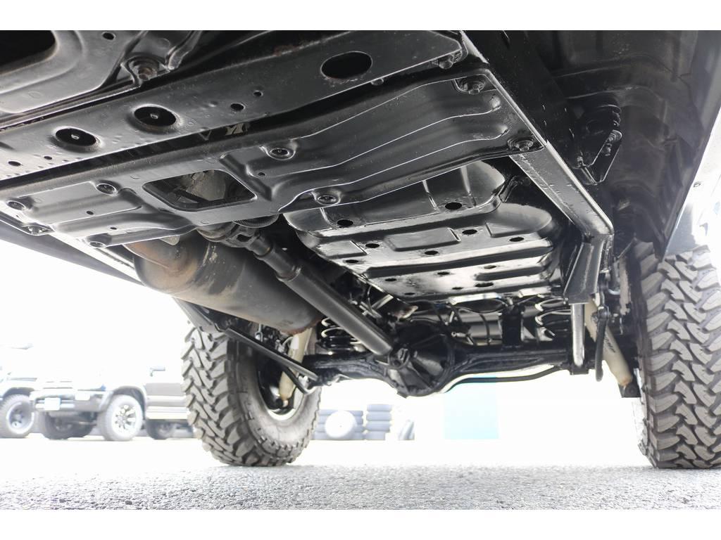 下廻りは洗浄後、防腐パスター仕上げにてお渡しさせていただきます! | トヨタ ランドクルーザー80 4.2 VXリミテッド ディーゼルターボ 4WD