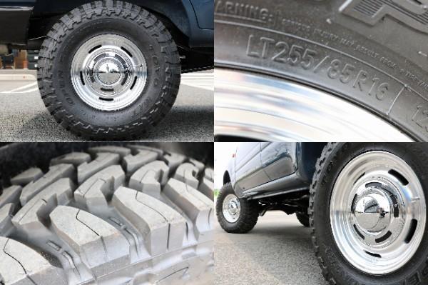 DEENクロスカントリー×TOYOオープンカントリー255MT | トヨタ ランドクルーザー80 4.2 VXリミテッド ディーゼルターボ 4WD