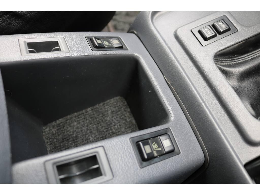 シートヒーター! | トヨタ ランドクルーザー80 4.2 VXリミテッド ディーゼルターボ 4WD