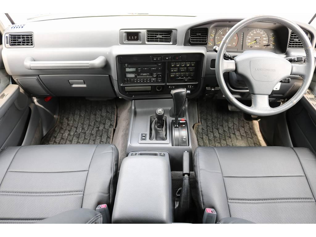 インパネ廻り! | トヨタ ランドクルーザー80 4.2 VXリミテッド ディーゼルターボ 4WD