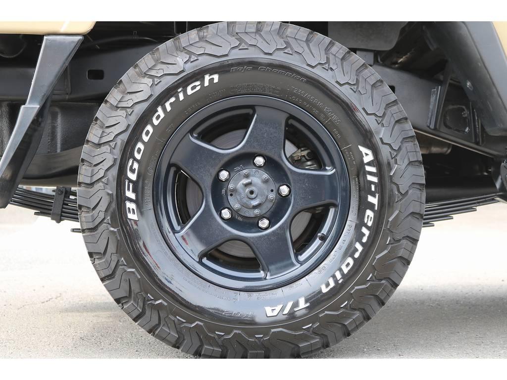ブラV16インチAW&BF235ATタイヤ! | トヨタ ランドクルーザー70ピックアップ 4.0 4WD ブラッドレー