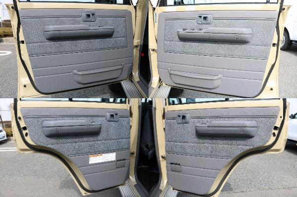各部内張り! | トヨタ ランドクルーザー70ピックアップ 4.0 4WD ブラッドレー