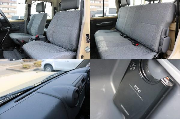 内装コンディションも良好です! | トヨタ ランドクルーザー70ピックアップ 4.0 4WD ブラッドレー