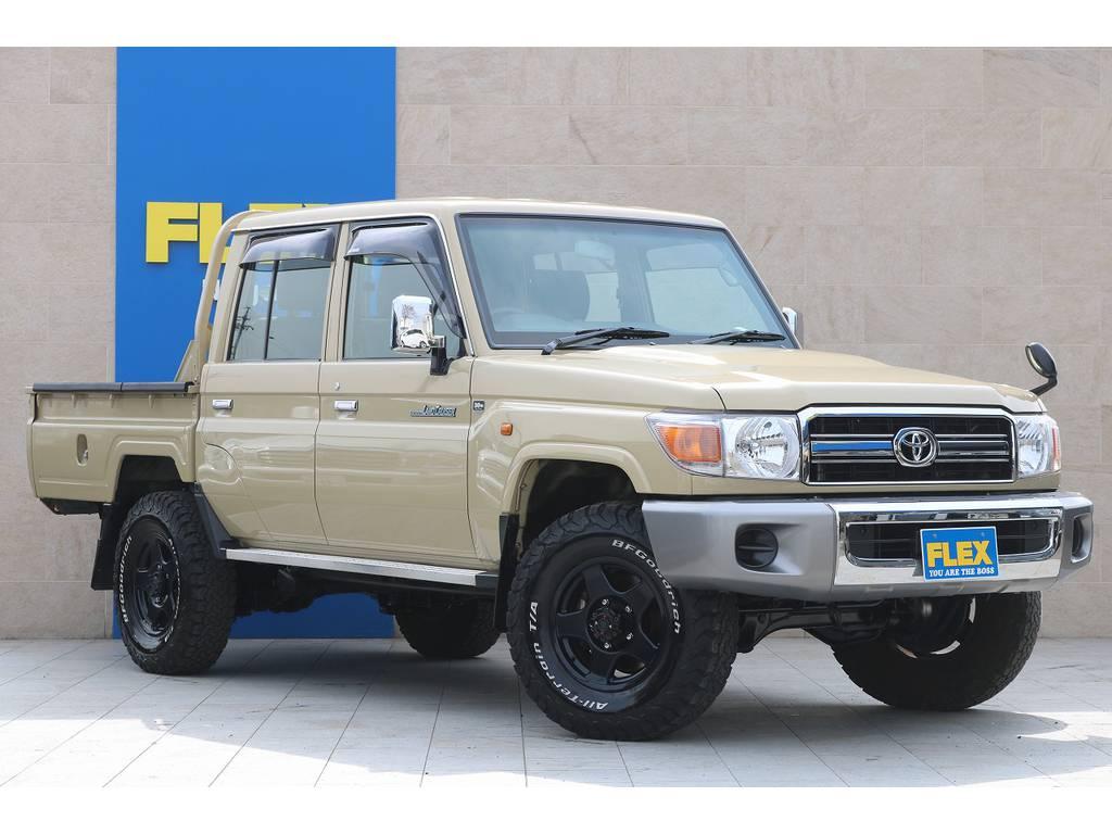全車法定点検整備後の、更新型、保証付き販売となります。 | トヨタ ランドクルーザー70ピックアップ 4.0 4WD ブラッドレー