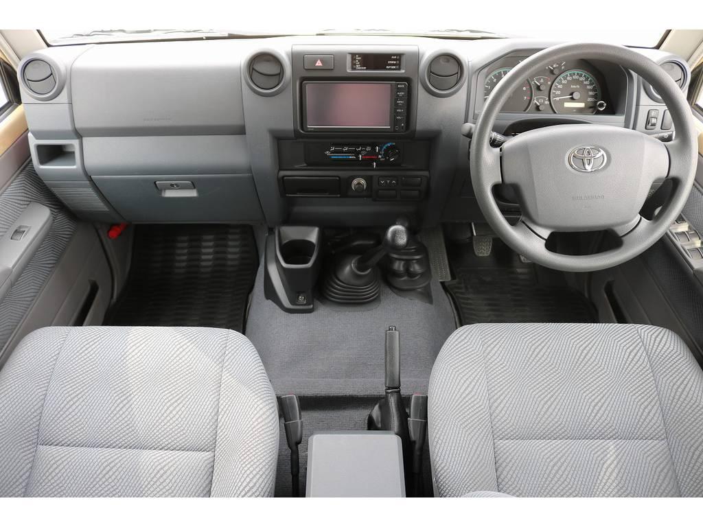 インパネ廻り! | トヨタ ランドクルーザー70ピックアップ 4.0 4WD ブラッドレー